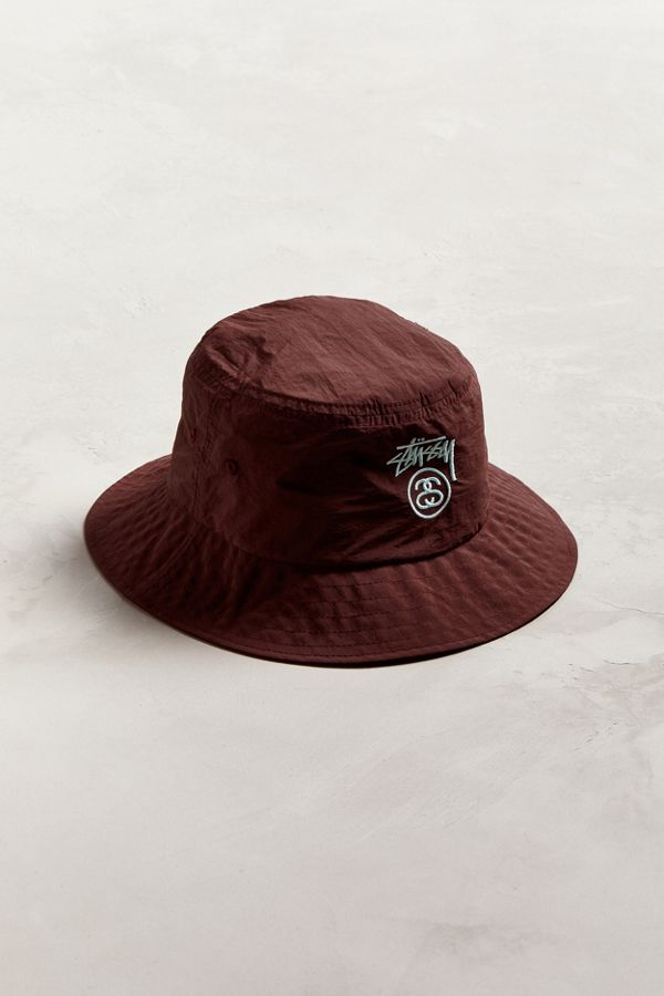6465a5cb2c2 Stussy Crushable Stock Lock Bucket Hat