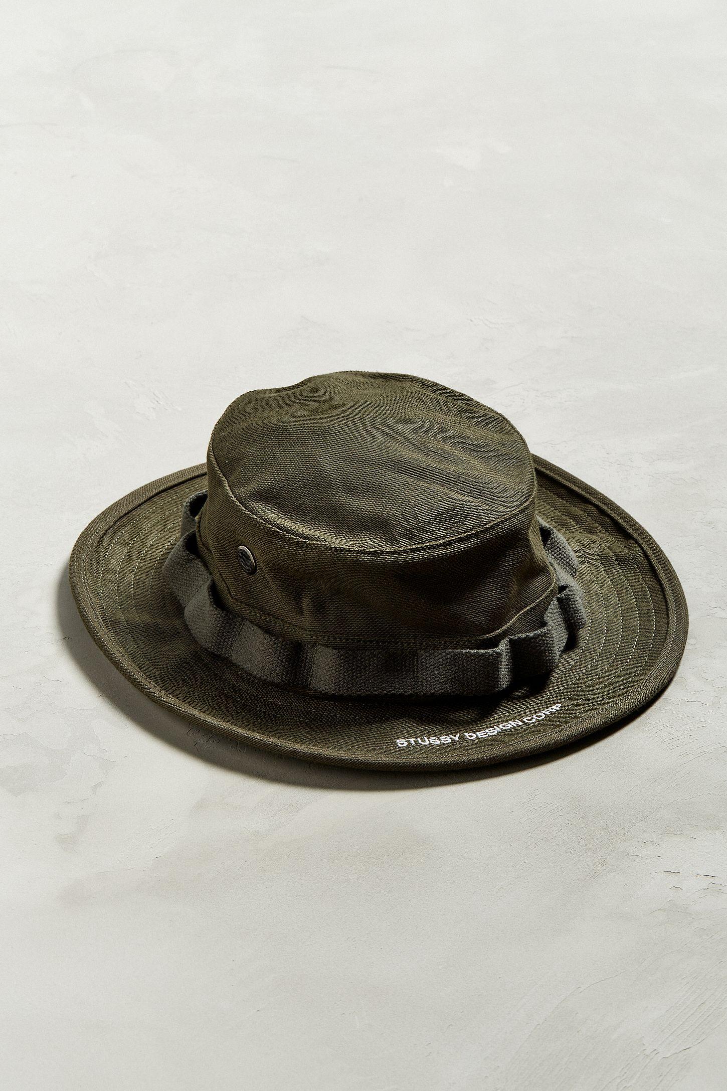 7cc87085793 Stussy Cloth Boonie Hat