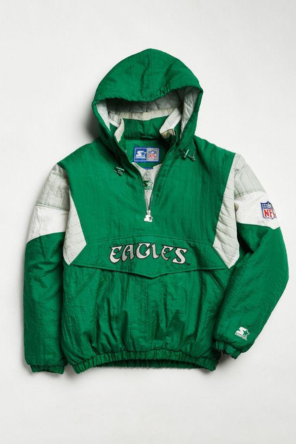 8b86a83b Vintage Starter Philadelphia Eagles Anorak Jacket