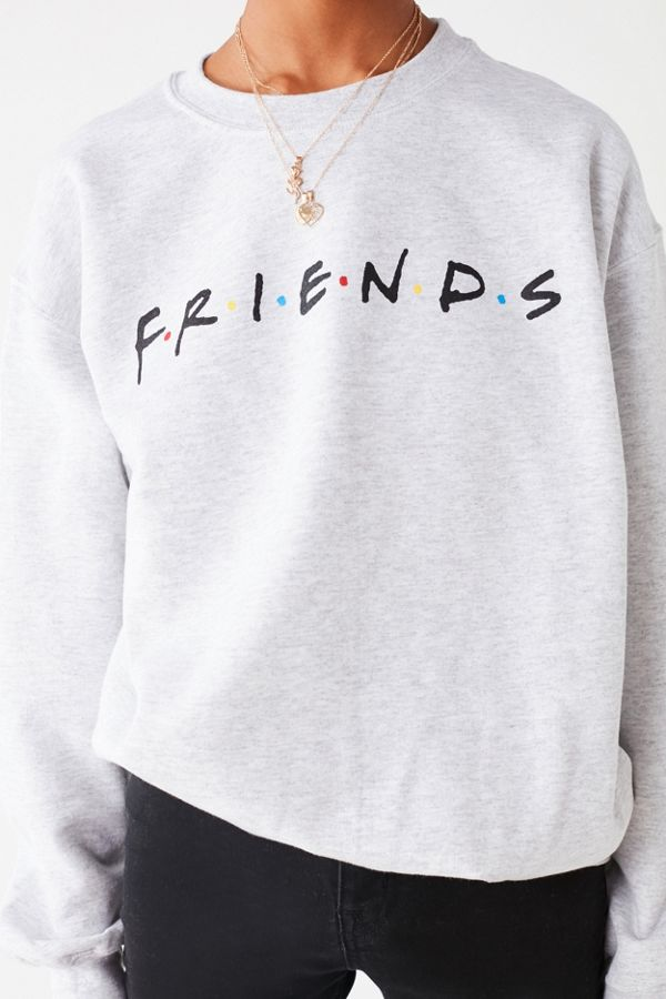 0add1f85b0 Slide View  3  Friends Logo Crew Neck Sweatshirt