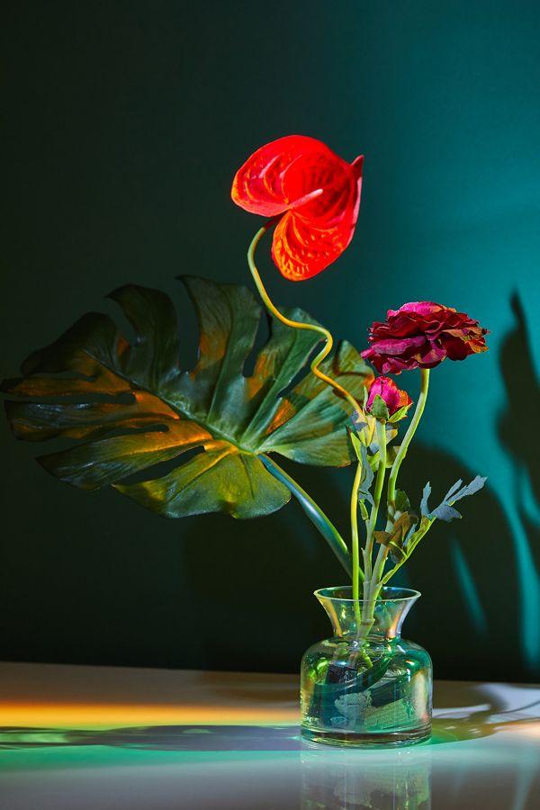 Slide View: 1: Anthurium Faux Flower