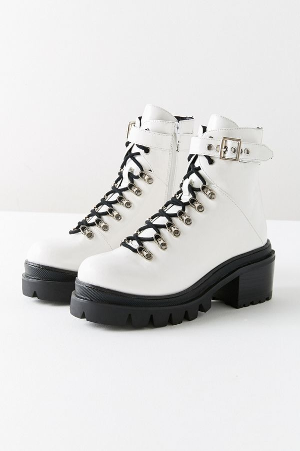 b743af80bff Jeffrey Campbell Czech Lace-Up Boot
