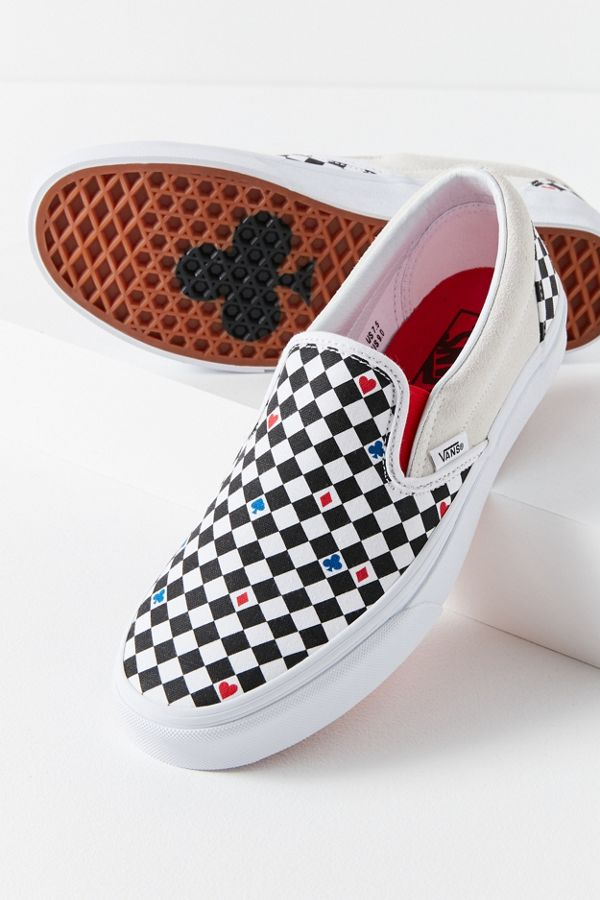 a2a6338405 Vans UO Exclusive Playing Card Classic Slip-On Sneaker