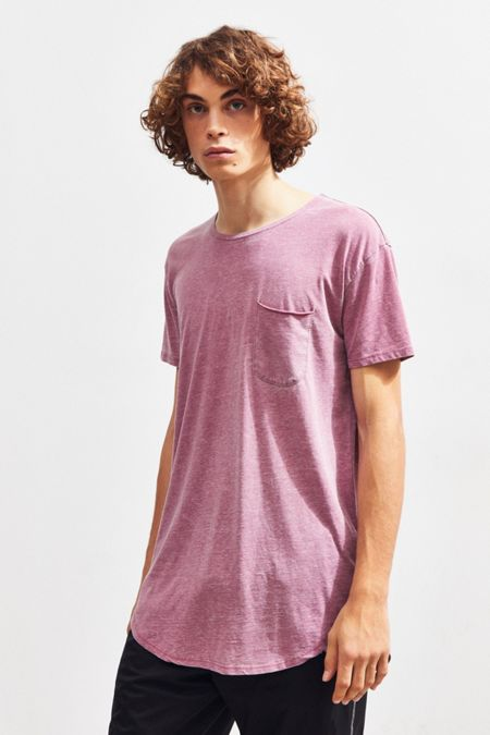 a4982998771a UO Burnout Scoop Neck Curved Hem Tee