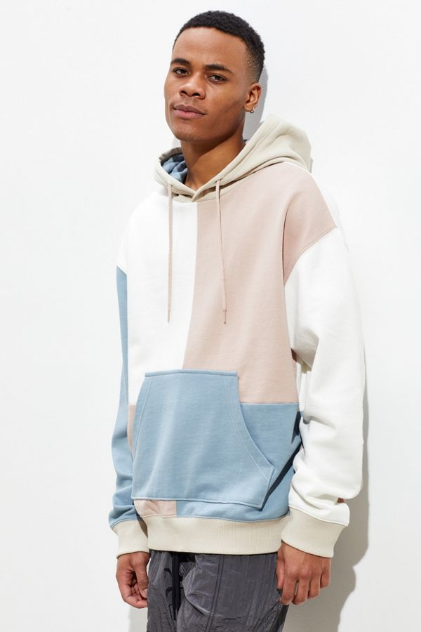 1f01aac920e6 UO Colorblocked Hoodie Sweatshirt   Urban Outfitters