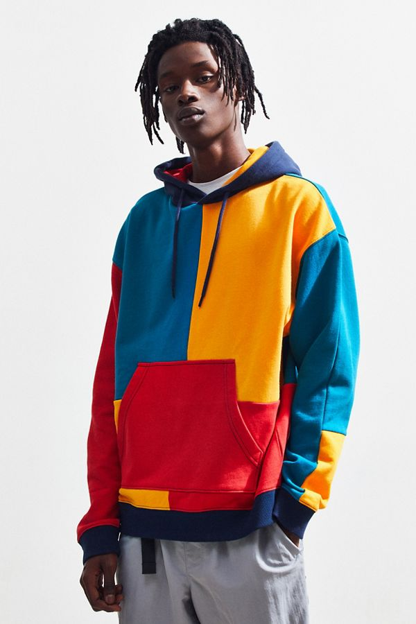 f4cd2b8f UO Colorblocked Hoodie Sweatshirt