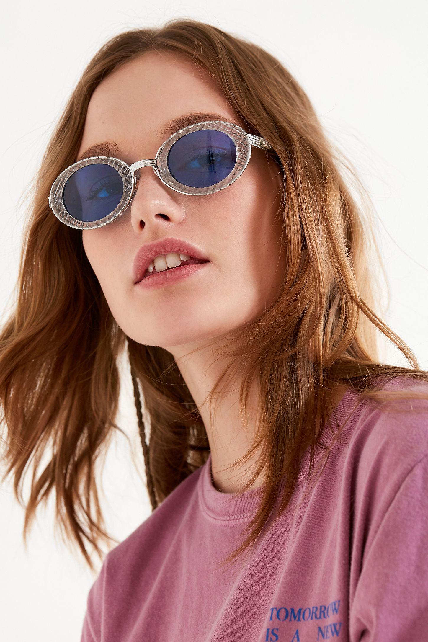 cbabe7aba08 Vintage Tiffany Oval Sunglasses
