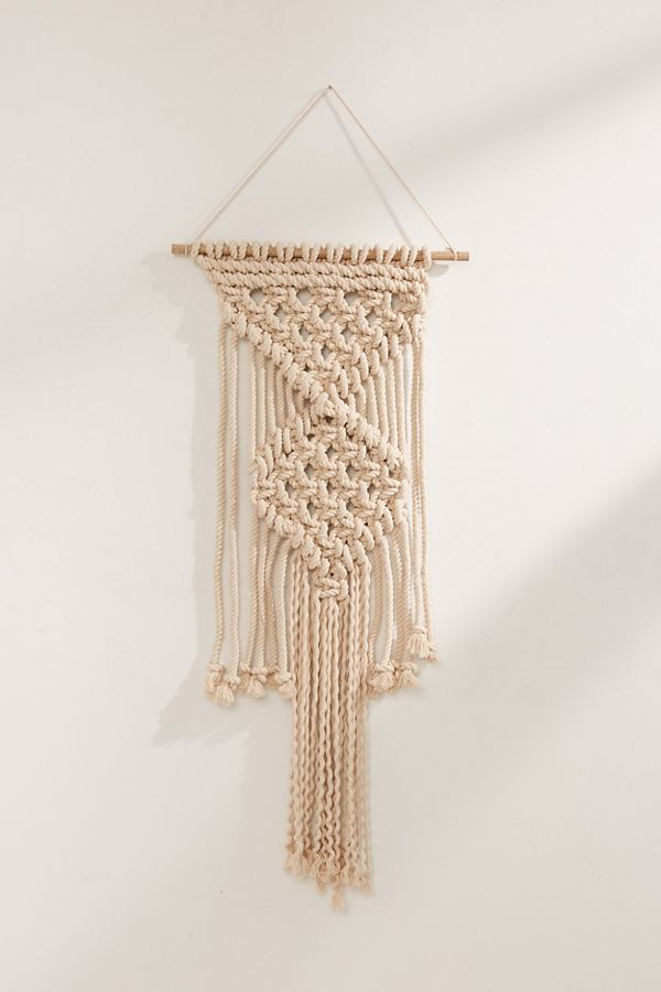 Macram 233 Rope Wall Hanging Urban Outfitters