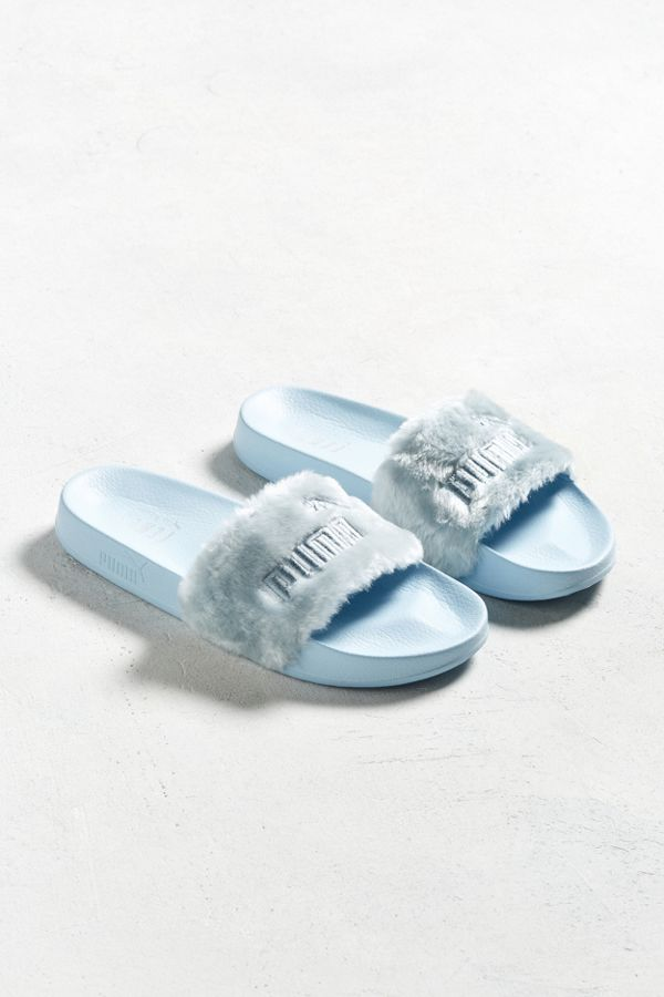 purchase cheap 433f9 302d0 Puma Fenty By Rihanna Faux Fur Slide Sandal