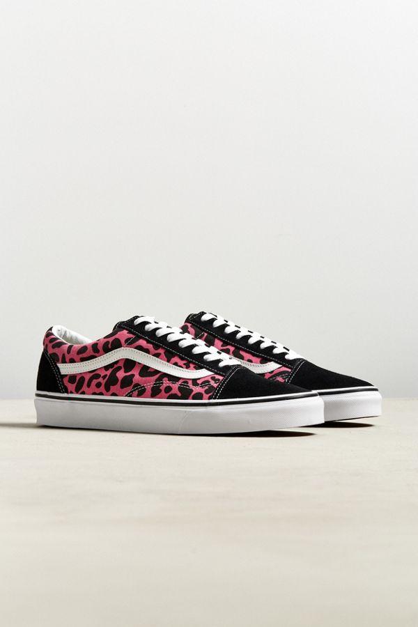72f050c982 Vans Old Skool Leopard Sneaker