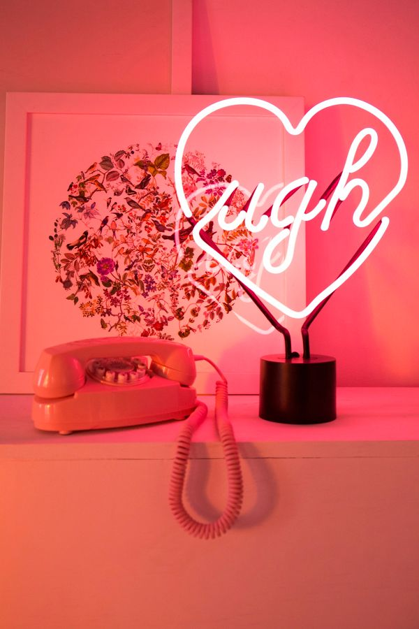 Ugh Neon Sign Table Lamp