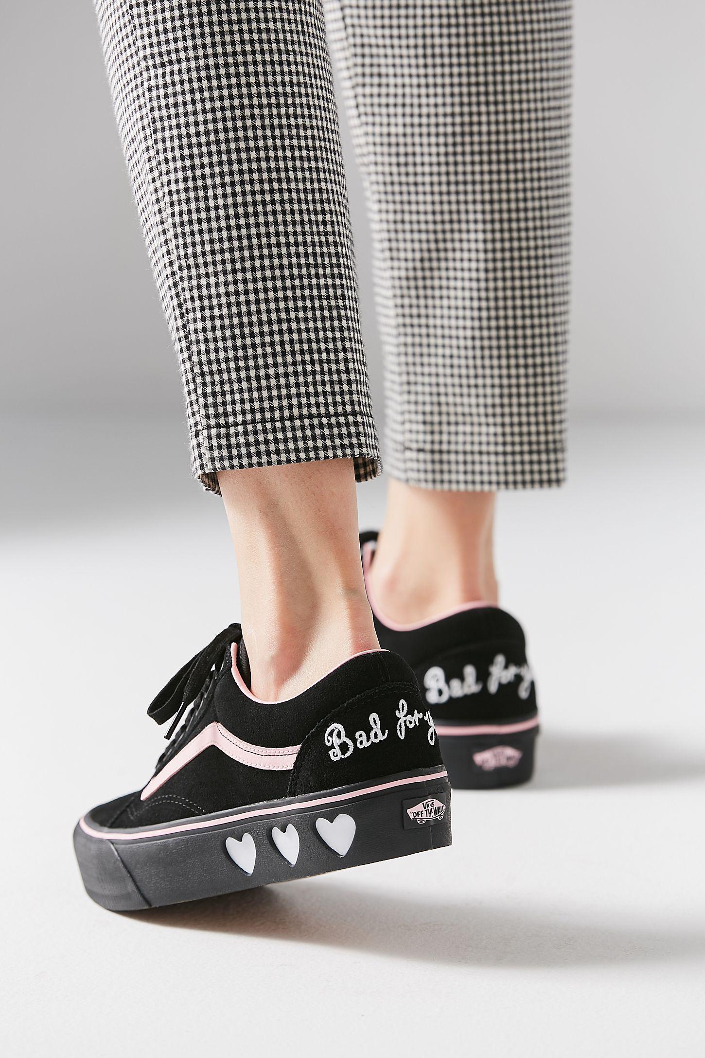 3ef81c2da2f Vans X Lazy Oaf Old Skool Platform Sneaker