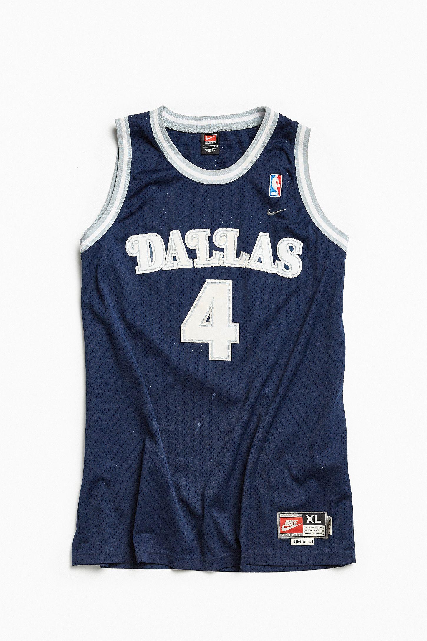b35510702ec5 Vintage Nike Michael Finley Dallas Mavericks Basketball Jersey ...
