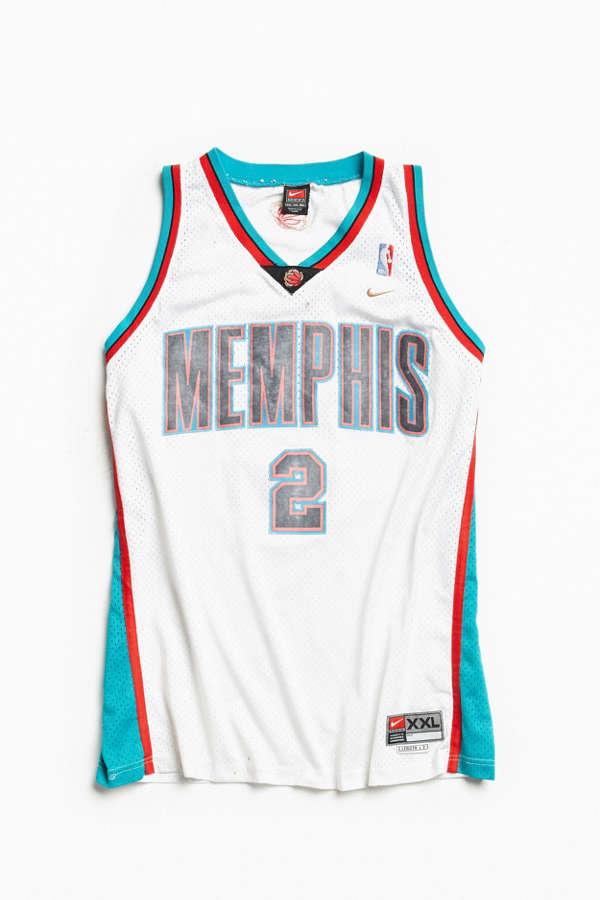 the best attitude bf608 b8399 Vintage Nike Jason Williams Memphis Grizzlies Basketball Jersey