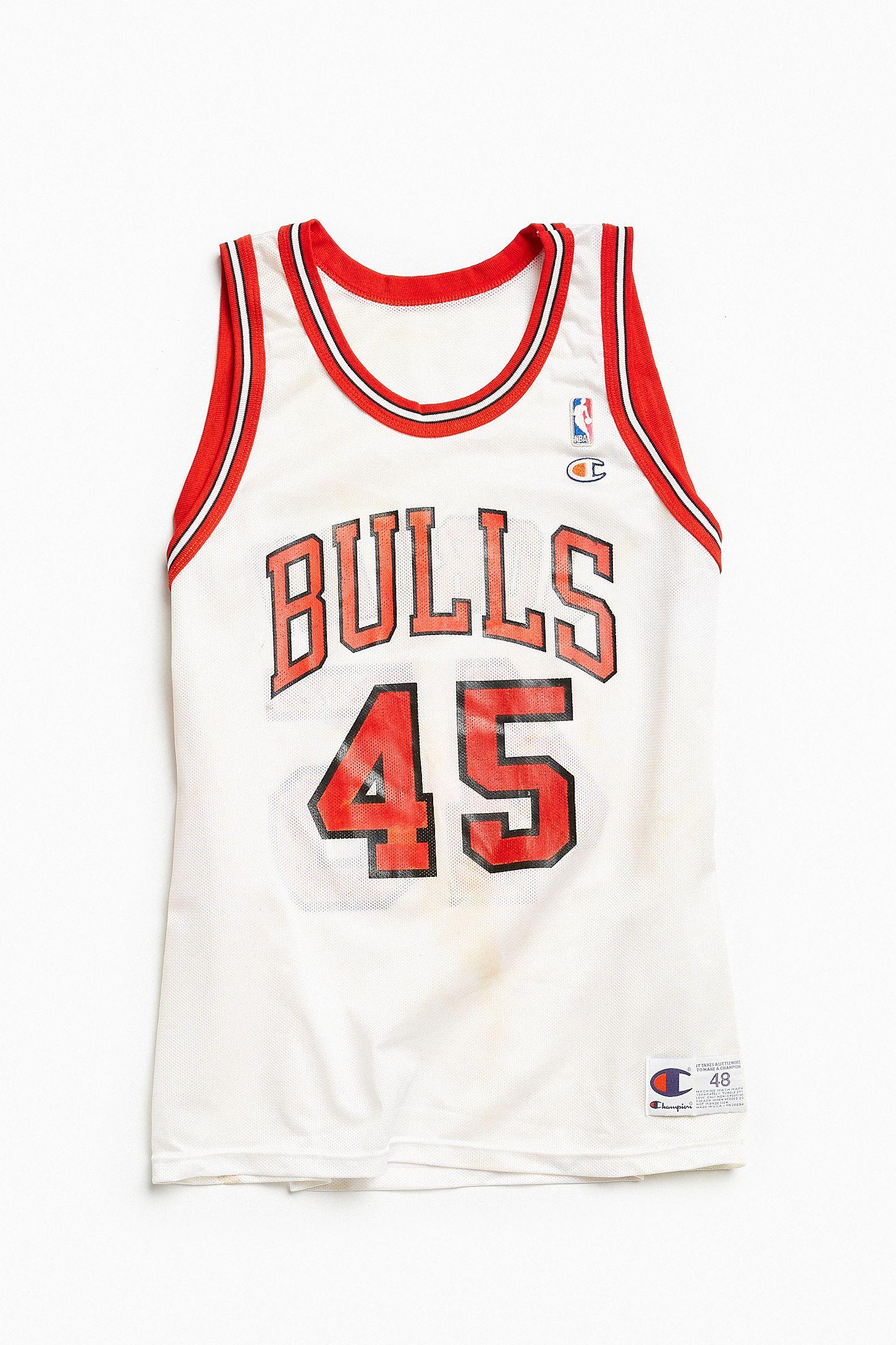 4d5cd04b7d3 Vintage Champion Michael Jordan Comeback Basketball Jersey | Urban ...