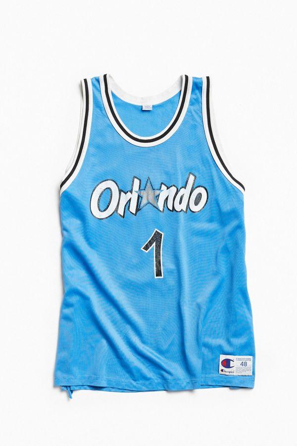 huge selection of 117b8 747ca Vintage Champion Penny Hardaway Orlando Magic Basketball Jersey