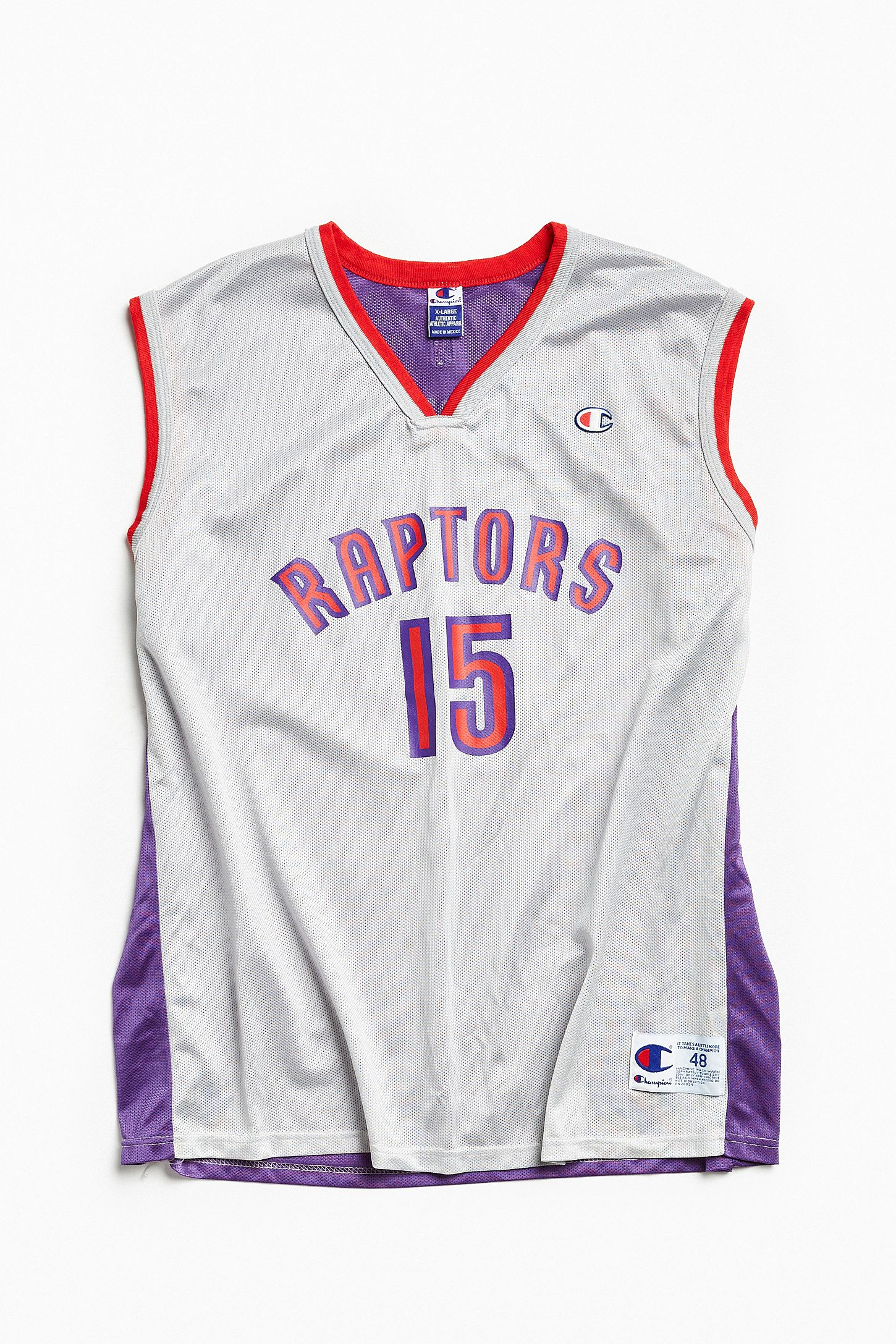 1fb39dcd484 Vintage Champion Vince Carter Toronto Raptors Basketball Jersey. Tap image  to zoom. Hover to zoom. Double Tap to Zoom