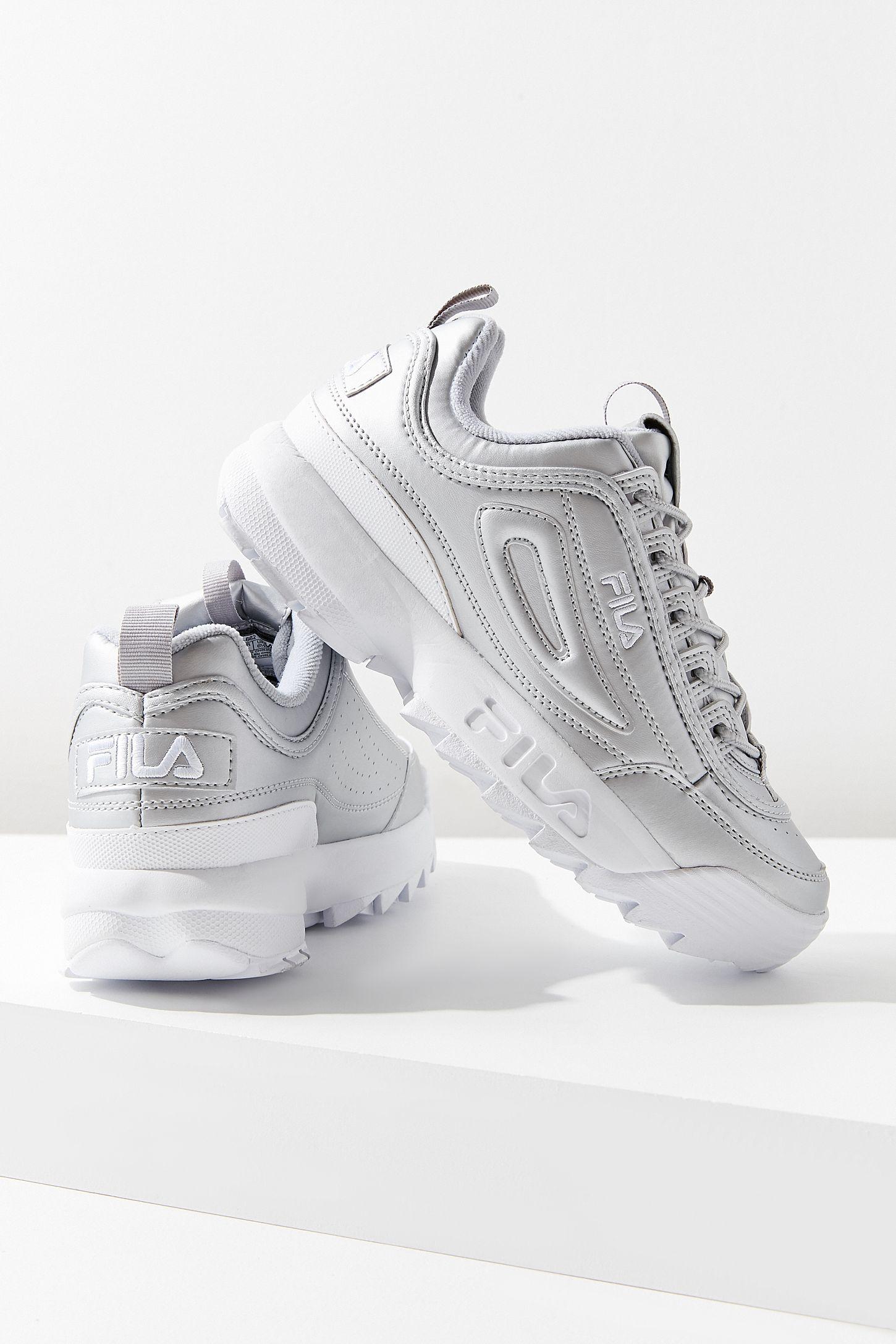 204ced9911570 FILA Disruptor II Metallic Sneaker