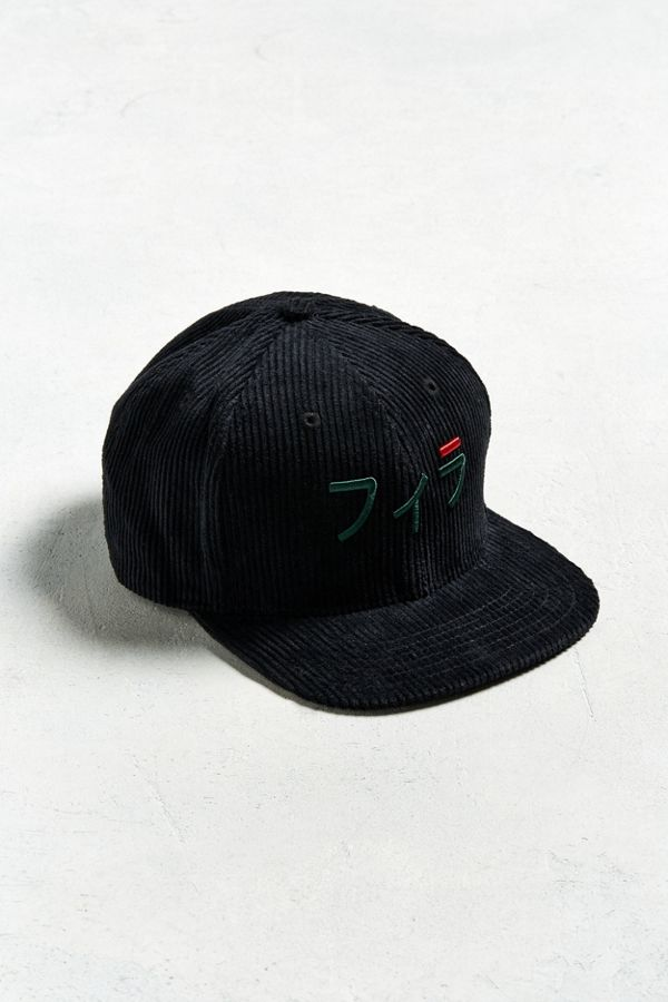 61be614a FILA Japanese Corduroy Baseball Hat   Urban Outfitters