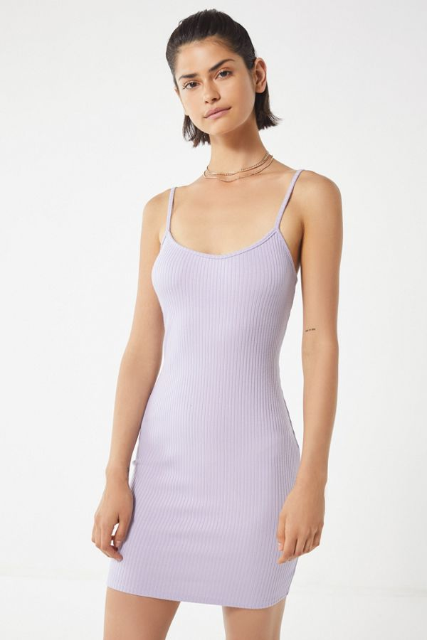 2be2838817524 UO Mia Ribbed Knit Bodycon Mini Dress | Urban Outfitters