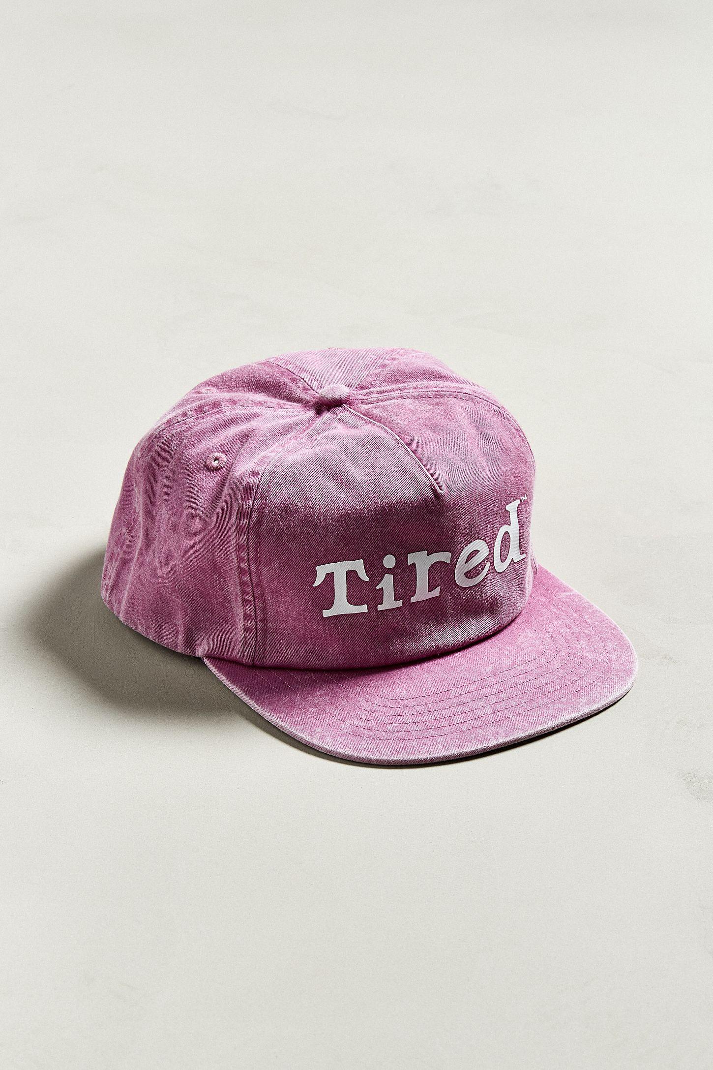 c6d274b3f1e1e Tired Washed Logo Snapback hat