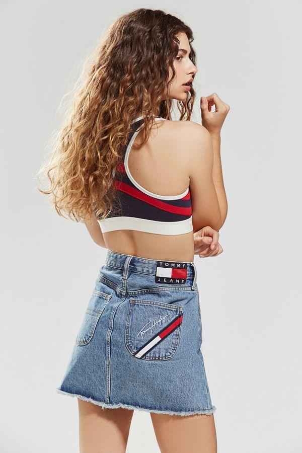 5113b96ceeb Tommy Jeans Denim Mini Skirt