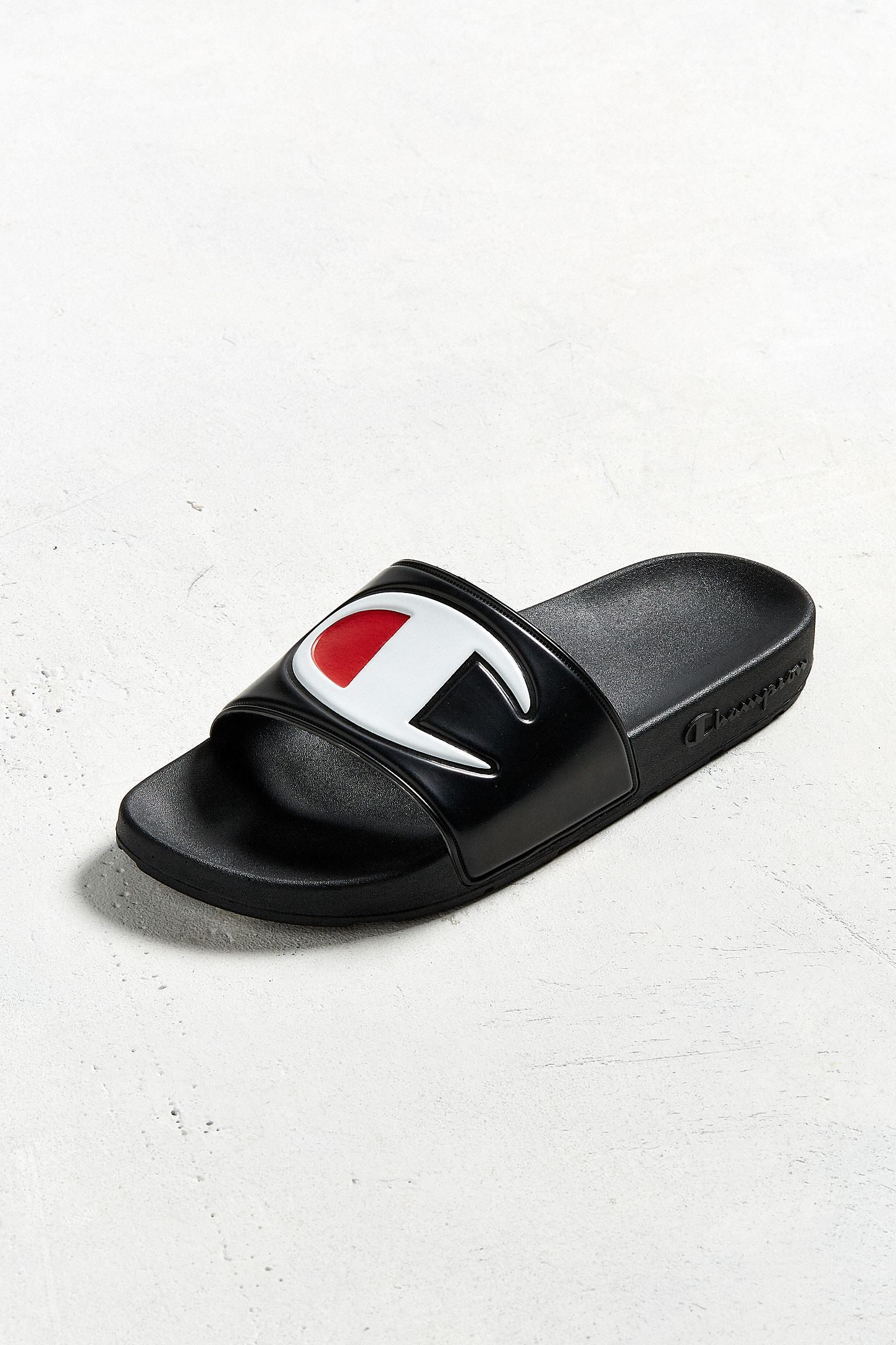 47ff9da78c757 Champion Big C Logo Slide Sandal