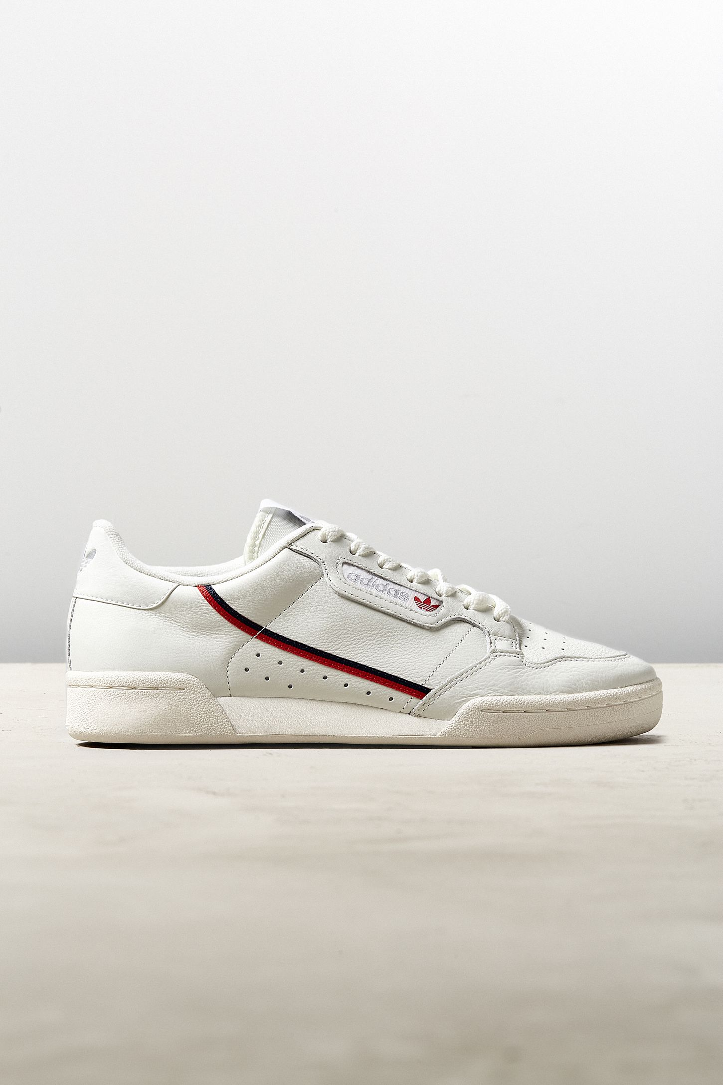 Slide View: 2: adidas Continental 80 Cream Sneaker | IN