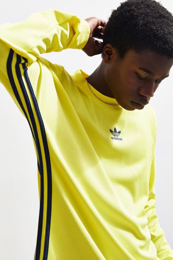size 40 be4d3 3e78e adidas Authentic Stripe Long Sleeve Jersey