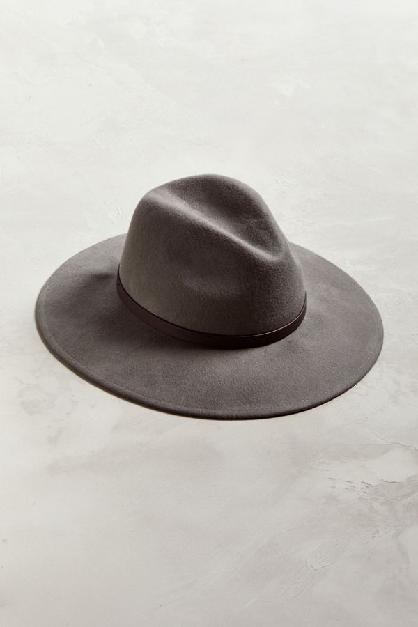 6d2f02b8ab85e Slide View  1  Wide Brim Fedora