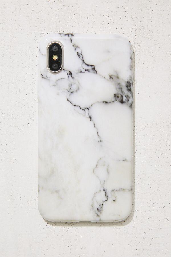 wholesale dealer 1904b 0ec11 White Marble iPhone X Case
