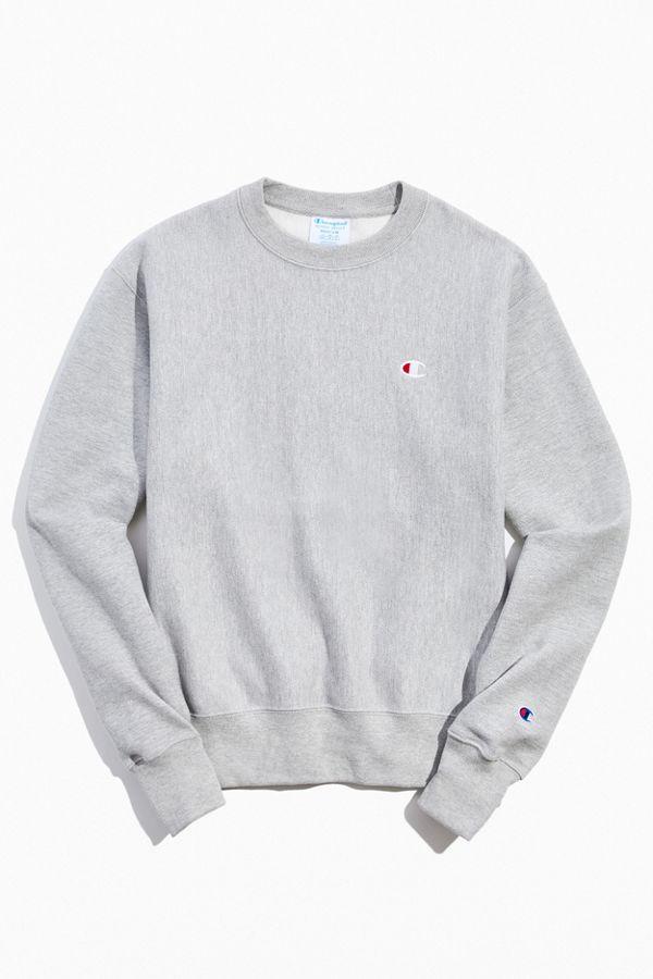 Champion Reverse Weave Fleece Grey Zip Up Hoodie