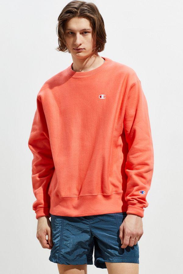 66587816a5cf Slide View  1  Champion Reverse Weave Fleece Crew Neck Sweatshirt
