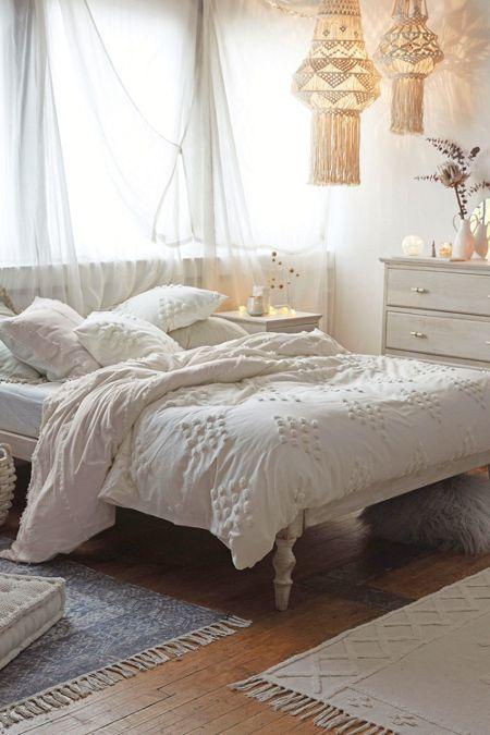 white - Bohemian Bedroom: Bedding, Furniture + Decor   Urban ...