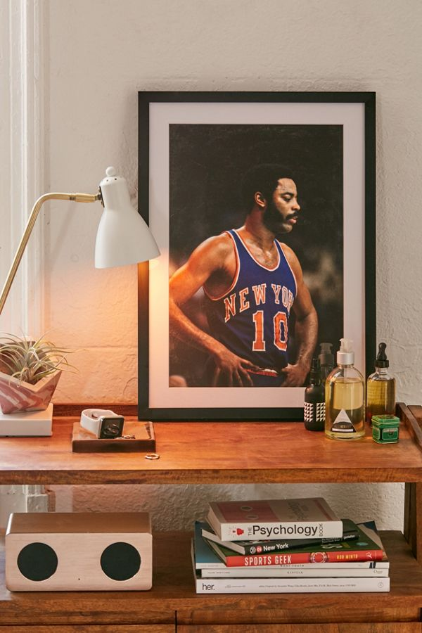 info for 9ca4a 312a3 Getty Images Walt Frazier Knicks Vs. Celtics Art Print