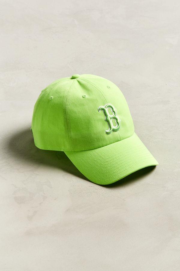 '47 Brand Boston Red Sox Neon Baseball Hat