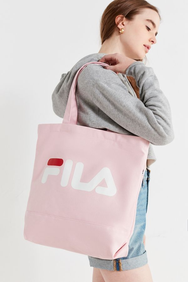 6a77fb6383 FILA Canvas Tote Bag