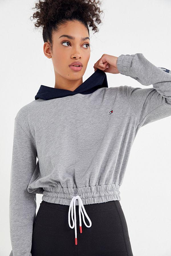 3a9bbb3c29de6 Tommy Hilfiger UO Exclusive Colorblock Hoodie Sweatshirt