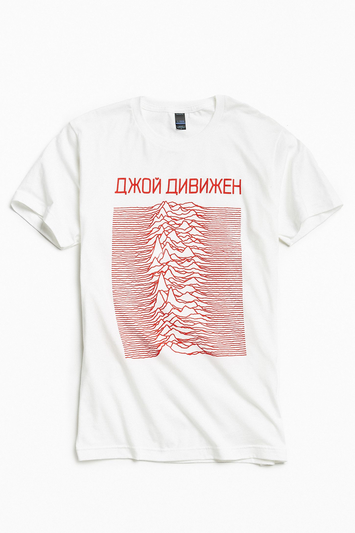 6ef2eb0d3a Joy Division Unknown Pleasures Tee | Urban Outfitters