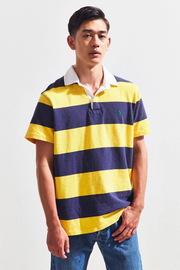 Sleeve Short Polo Ralph Vintage Lauren University Rugby Shirt SUMVzp