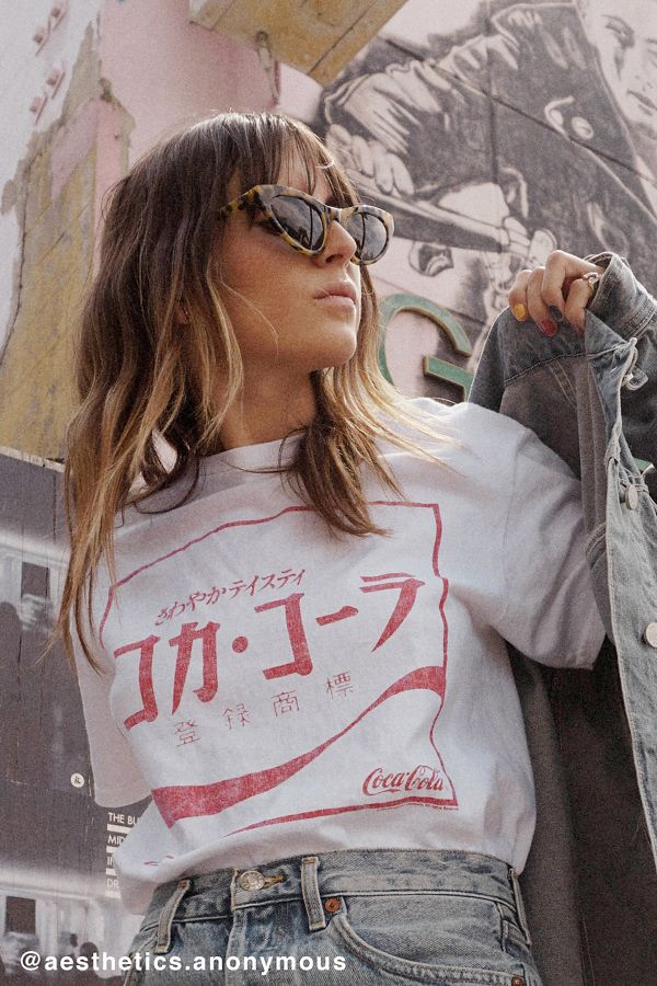 cf7562563 Junk Food Japanese Coca-Cola Tee | Urban Outfitters