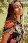 UO Cali Button-Down Mini Dress #1