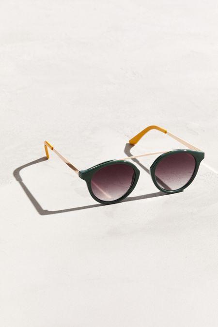46236225176bc Bridgeless Plastic Round Sunglasses
