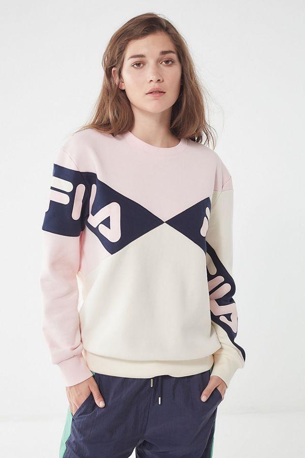 024f2230e278 FILA + UO Lidia Crew-Neck Sweatshirt   Urban Outfitters Canada