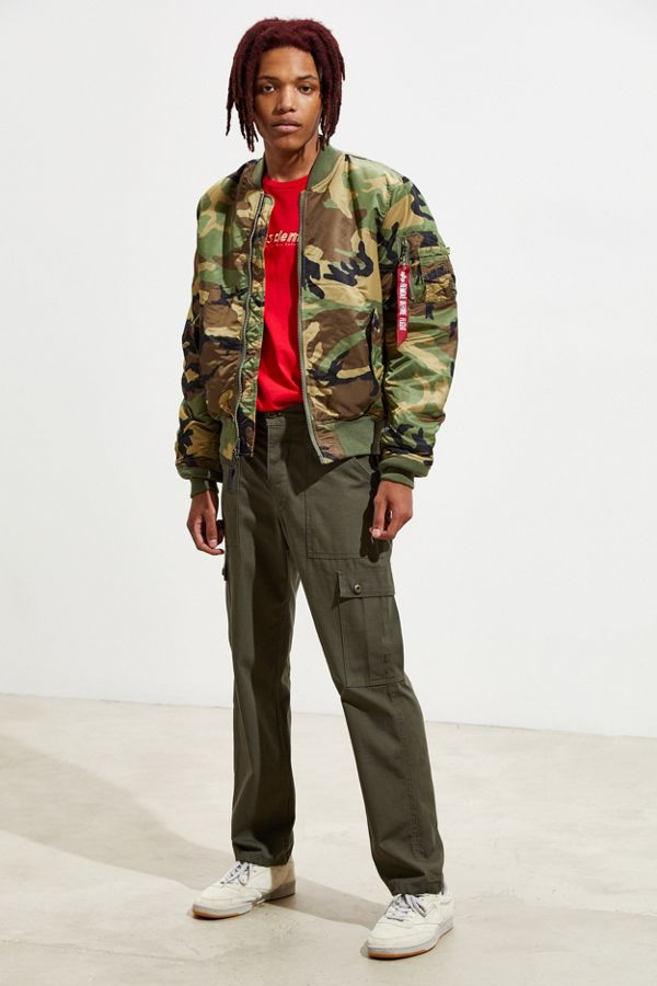 Alpha Industries MA 1 Slim Fit Bomber Jacket