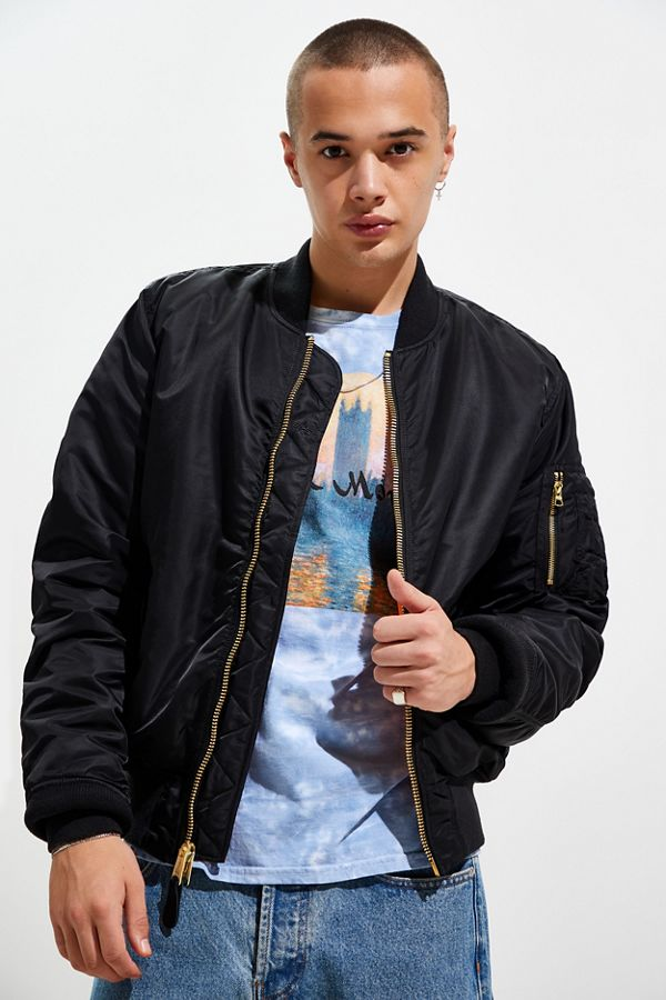 450e5c0450d01 Slide View  1  Alpha Industries MA-1 Slim Fit Bomber Jacket