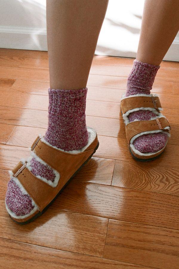 hot sale online a4b24 57648 Birkenstock Arizona Shearling Sandal