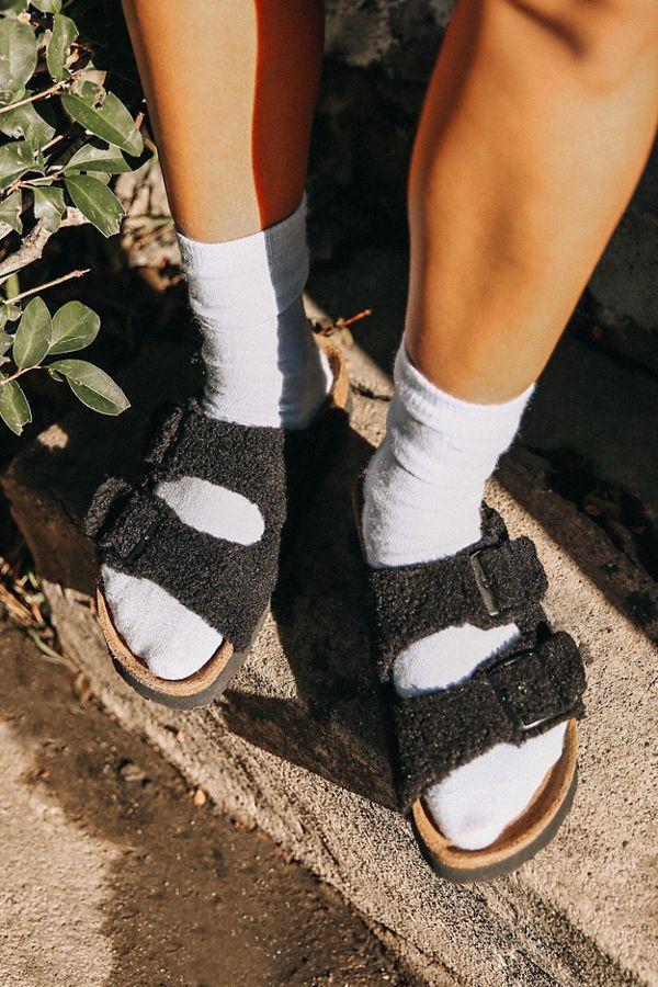 1bafcf42f63 Slide View  1  Papillio By Birkenstock Arizona Platform Fleece Sandal