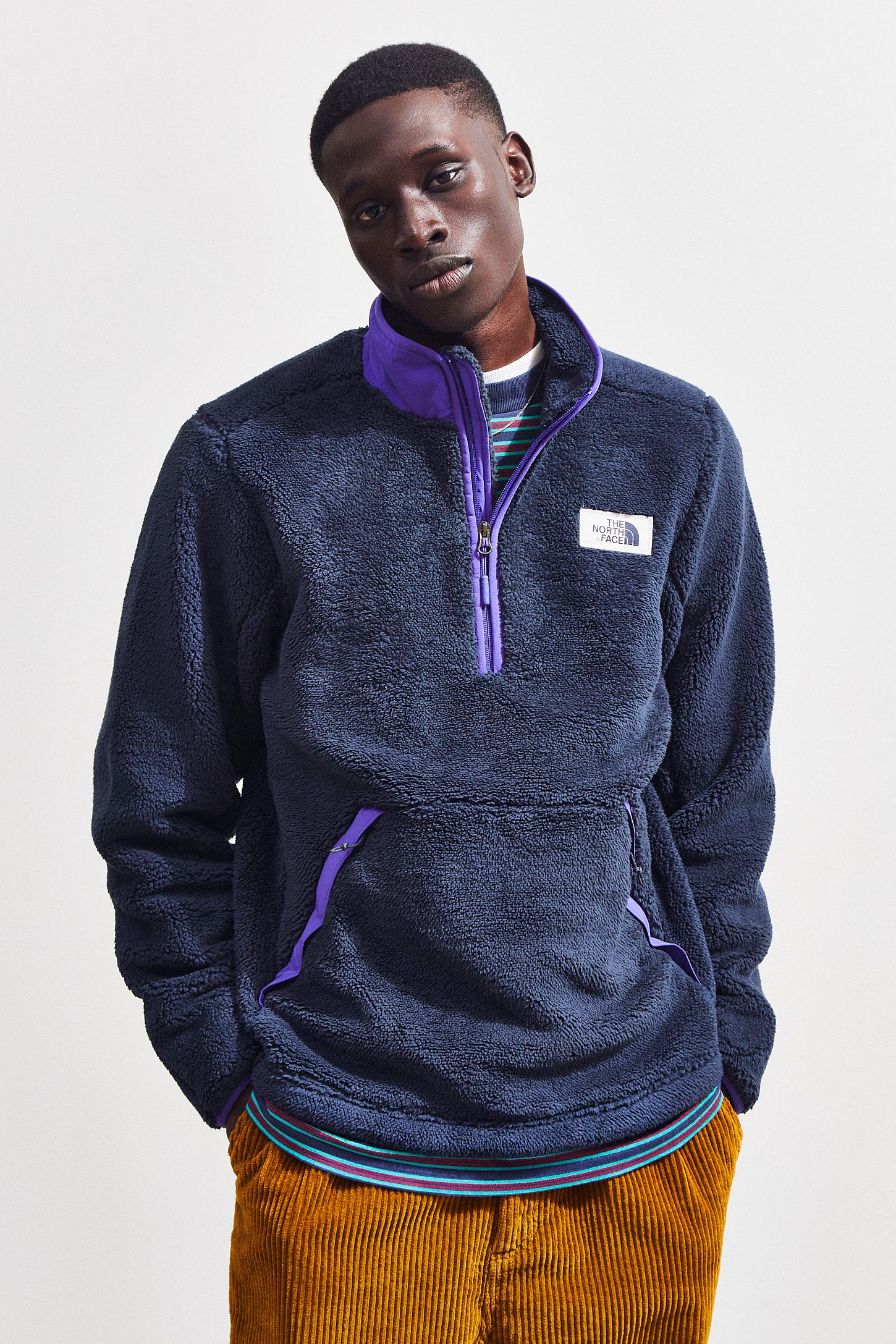 179a14002 The North Face Sherpa Pullover Jacket