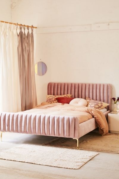 Marcella Velvet Bed Urban Outfitters